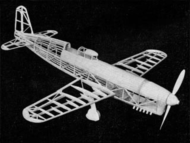 Caudron-Renault Racer (oz4812) by Paul Lindberg from Popular Aviation 1936