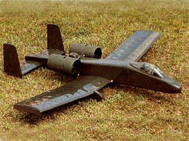 A-10 Thunderbolt (oz4819) by John Kidd from Model Airplane News 1992