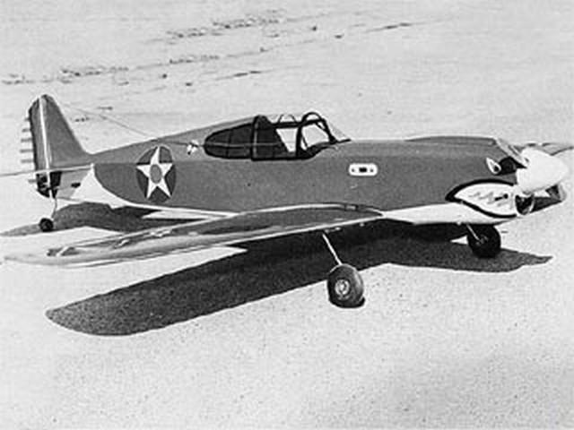 P-40 Quarter Midget Racer (oz4848) by Jack Sheeks from Model Builder 1973