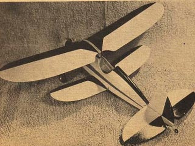 Snoopy (oz485) by Ted Strader from Model Airplane News 1956