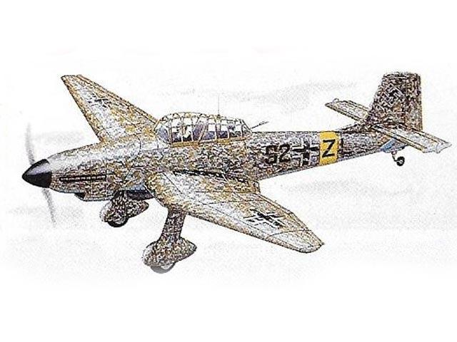 Junkers Ju 87D-5 Stuka (oz4853) from Royal Marutaka 1980