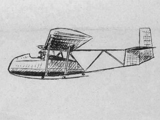 Avia 152-A - completed model photo