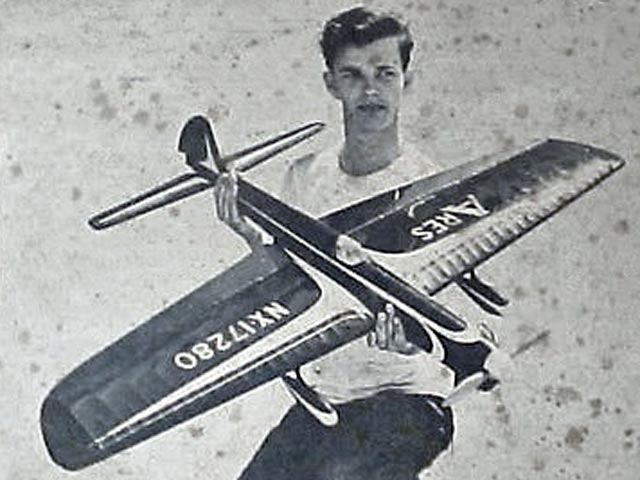 Ares (oz4884) by Bill Werwage from American Modeler 1959