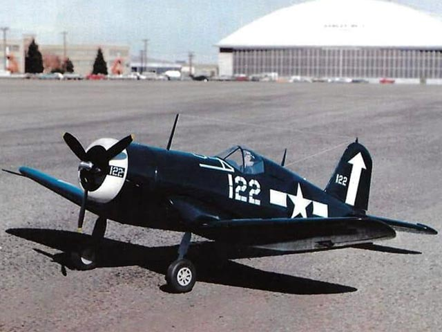 Chance Vought F4U-1D Corsair (oz4906) from Royal Marutaka 1982