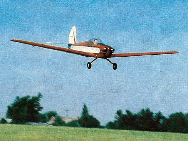 Schweizer 1-30 (oz4908) by Doc Mathews from Model Airplane News 1981