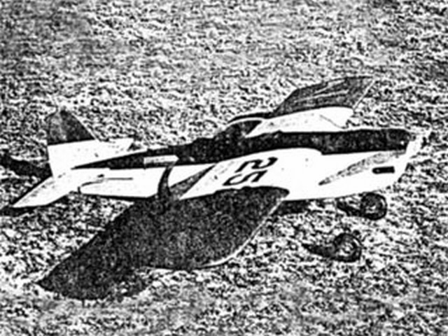 Funster (oz4932) by S Cal Smith from Flying Models 1949