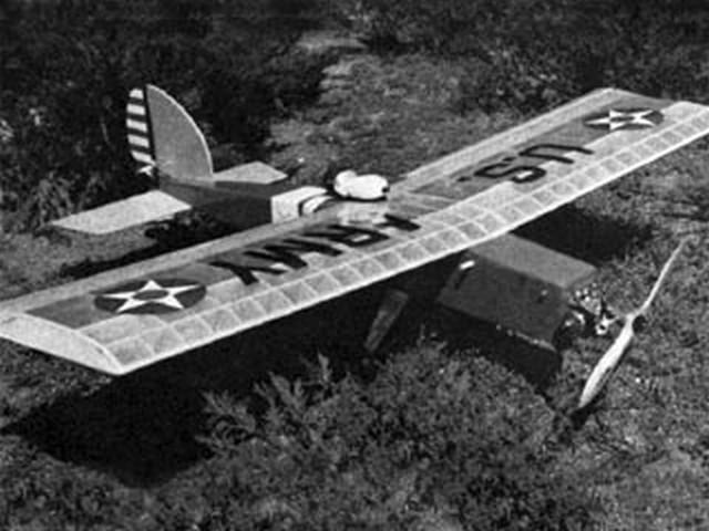 Das Liddle Stik (oz4952) by Larry Leonard from RCMplans 1968