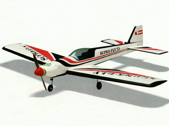 Supra-Fly 25 (oz4967) by Hanno Prettner from OK Model Pilot 1988