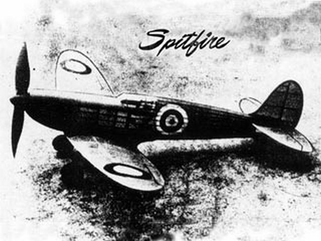 Spitfire IX (oz497) by Earl Stahl from Air World 1946