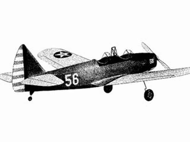 Fairchild PT-19 (oz4985) from Sterling 1965