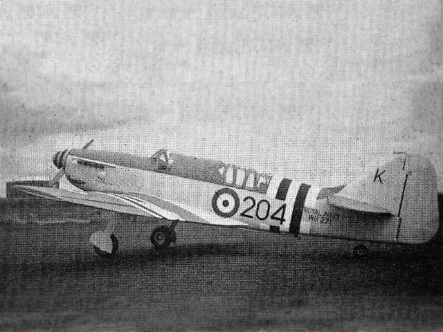 Fairey Firefly V (oz4993) by A Richardson, B Yeardley from Complete-a-Pac 1974