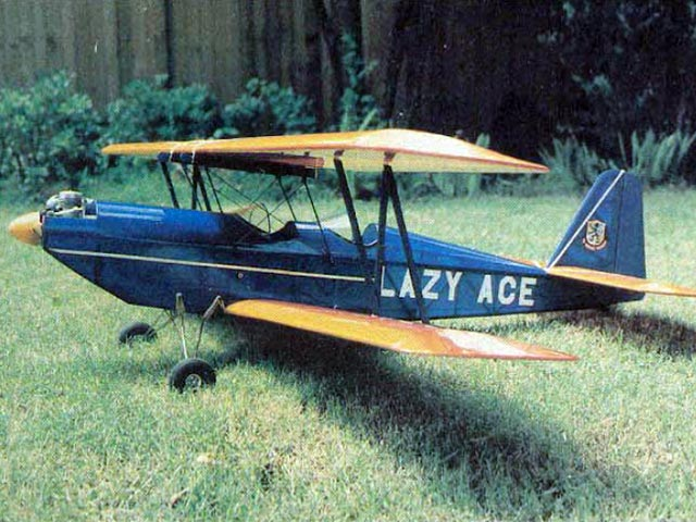 Lazy Ace (oz5008) by Chuck Cunningham from RCMplans 1977