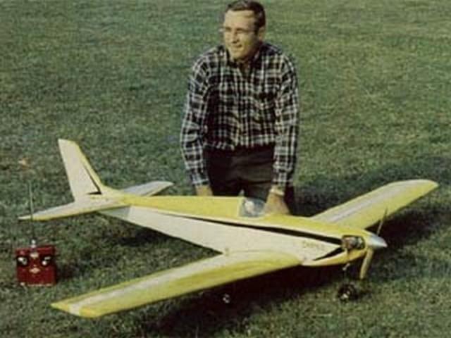 Omen II (oz5050) by Don Wilke from RCMplans 1968