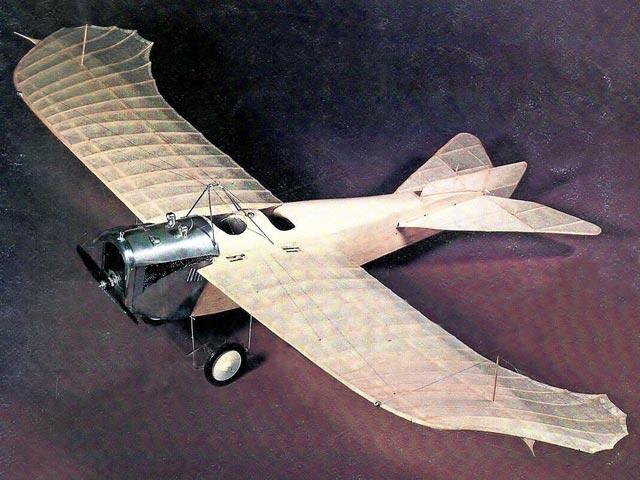 Gotha Taube LE4 (oz5058) by Bill Stroman from Model Builder 1976