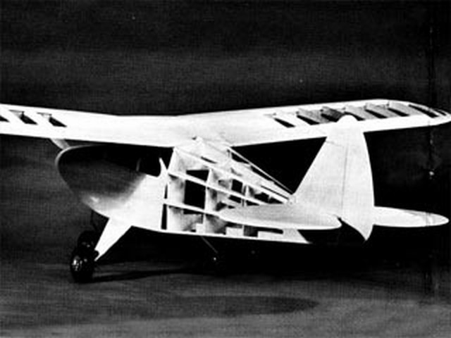 Piper Tri Pacer - completed model photo