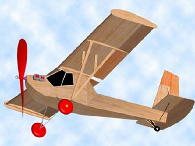Poullin JP-30 (oz5073) by Bill Warner from American Aircraft Modeler 1971
