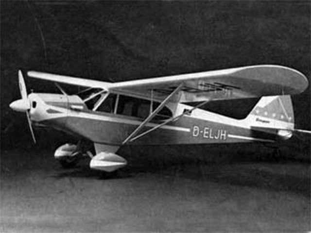 Piper PA-18 Super Cub (oz5095) from Graupner 1975