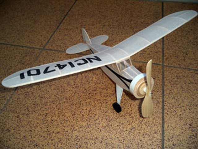 Rearwin Sportster - completed model photo