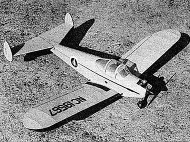 Ercoupe (oz5108) by Hal DeBolt from DMECO 1961