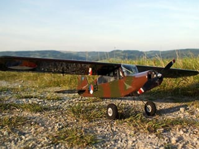 Piper PA-18 Portatil (oz5114) from HOP