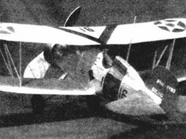 Boeing F4B-4 (oz513) by Bill Winter from Model Airplane News 1936