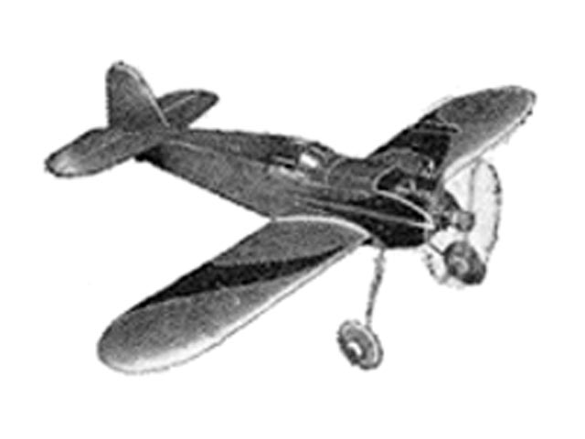 Cadet (oz5152) by Frank Greene from Falcon Model Airplane 1948