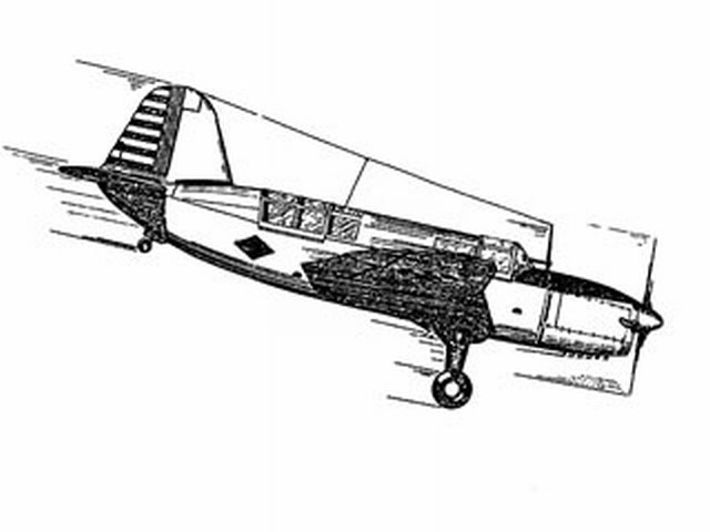 Curtiss Scout (oz518) from Ace Whitman 1940