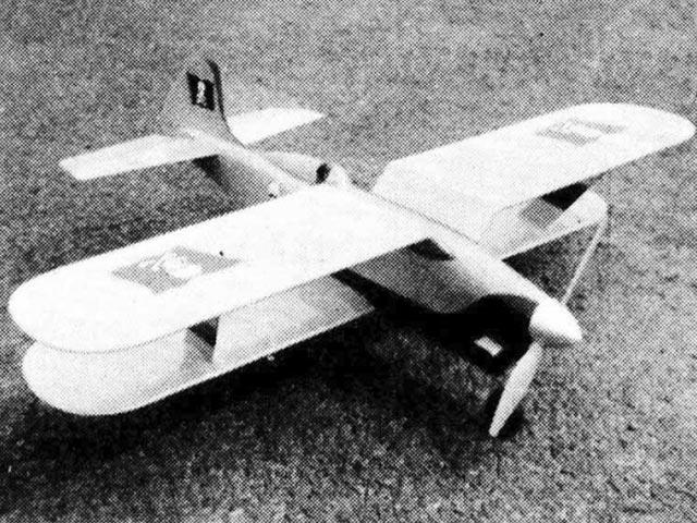 Jolly Roger (oz519) by Larry Scarinzi from Flying Models 1958