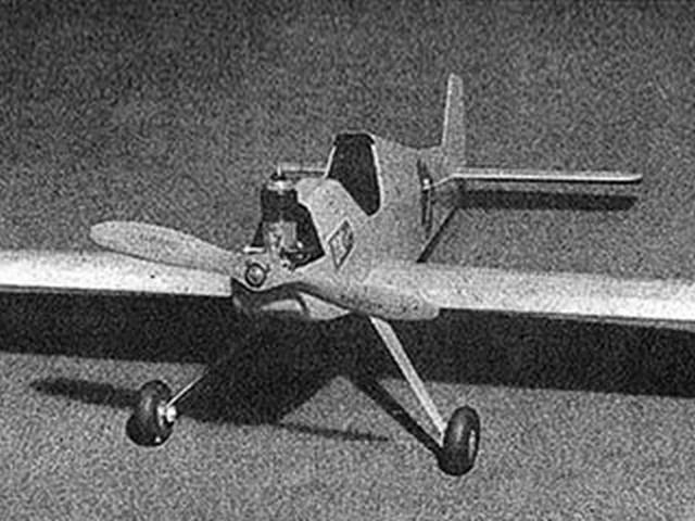 .099 Sportliner (oz5198) by Lloyd Hunt from Flying Models 1952