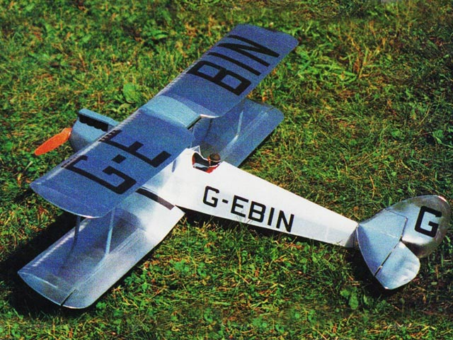 DH Gypsy Moth (oz5210) by Gordon Whitehead from RCMplans 1978