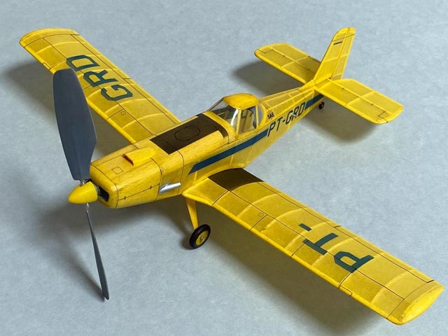 Embraer Ipanema (oz5212) by Walt Mooney from Model Builder 1980