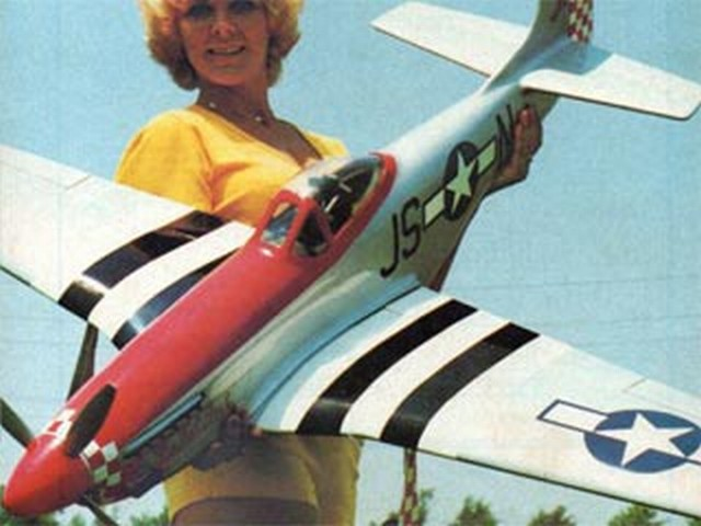 P-51D Miss Kat Brat (oz5213) by Jim Vornholt from RCMplans 1977