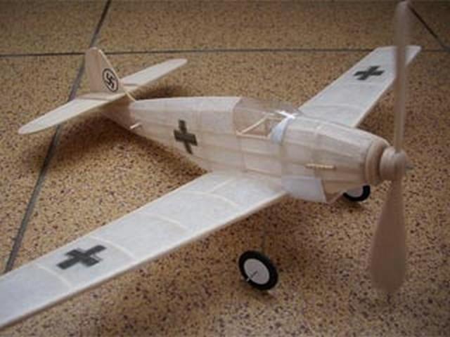 Messerschmitt Bf-109 (oz5239) by Herbert K Weiss from Model Airplane News 1938