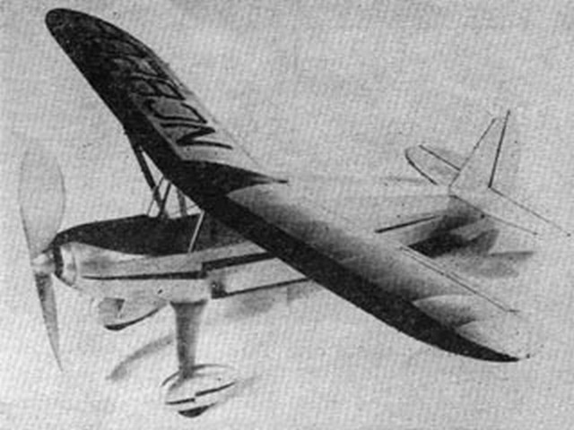 Interstate Cadet (oz5243) by Sydney Struhl from Flying Aces 1942