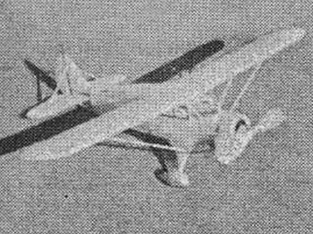 Stinson Reliant (oz5250) by Avrum Zier from Flying Aces 1934