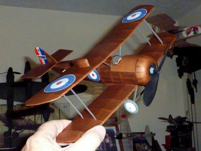 DH 5 (oz5263) by Mike Midkiff from Flying Models 1991