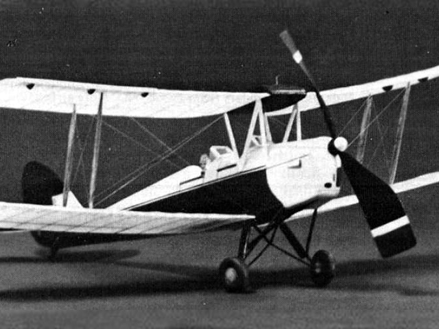 Tiger Moth (oz5294) by Hoby Clay from Model Builder 1983