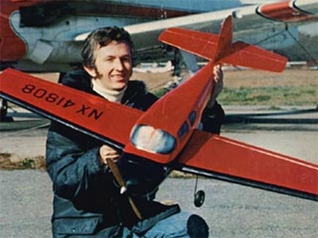 Grumman G-63 Kitten I (oz5298) by Bob Aberle from Flying Models 1977