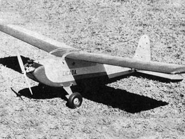 Cicada (oz5308) by John Marquette from Model News 1960