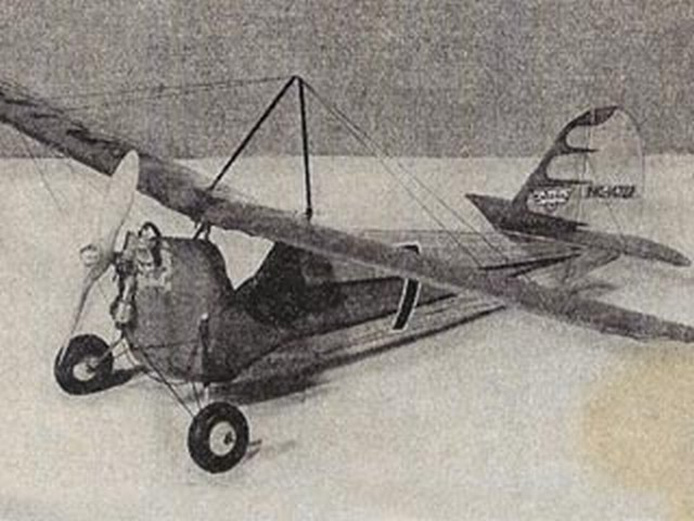 Aeronca Gas Model (oz5320) by Peter Ogrinz from Model Craftsman 1940