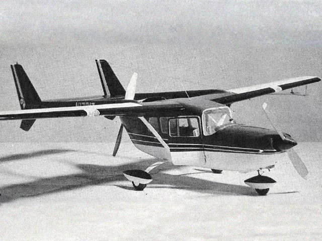 Cessna 336 Skymaster (oz5354) by Robert Welch from American Modeler 1964