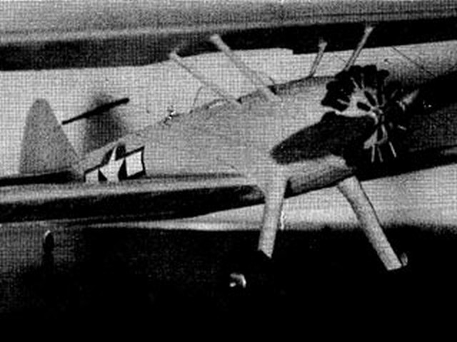 Stearman PT-17  (oz5355) by Powers Lefebre from Miniature Aircraft Corp 1948