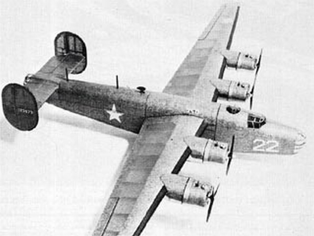 Consolidated B-24D Liberator - completed model photo