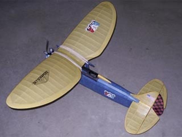 Tornado II - completed model photo