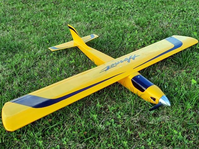 Hornet (oz5419) by Noel Rozelle from RCMplans 1977