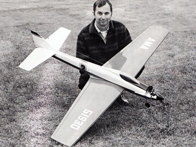 Mach One (oz5462) by Norm Page from Model Airplane News 1973
