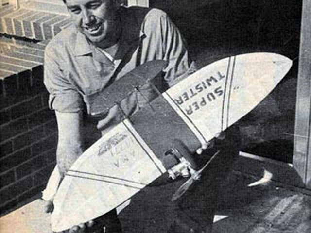 Super Twister (oz5466) by Carl Berryman from Model Airplane News 1967