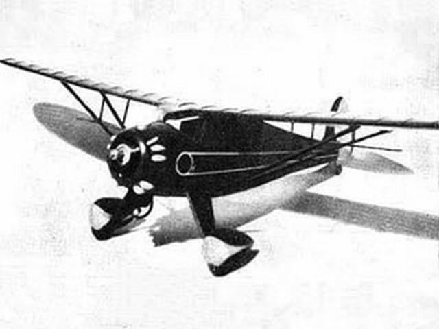 Monocoupe (oz5473) by Len Marlow from Model Airplane News 1948
