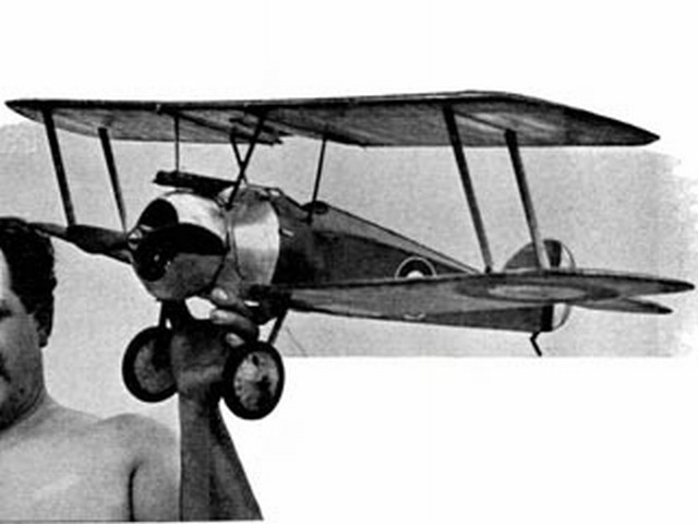 Sopwith Camel (oz5493) by PE Norman from Model Aircraft 1951