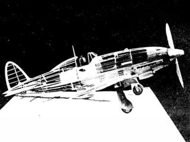 Macchi C.205V (oz5503) by Ercole Arseni from Modellismo 1947